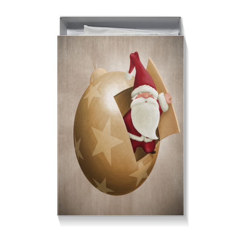 Printio Санта коробка для футболок printio времена года а муха
