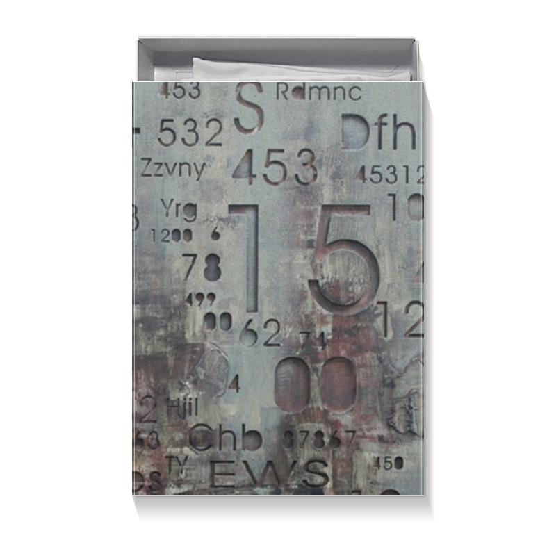 Коробка для футболок Printio Цифры