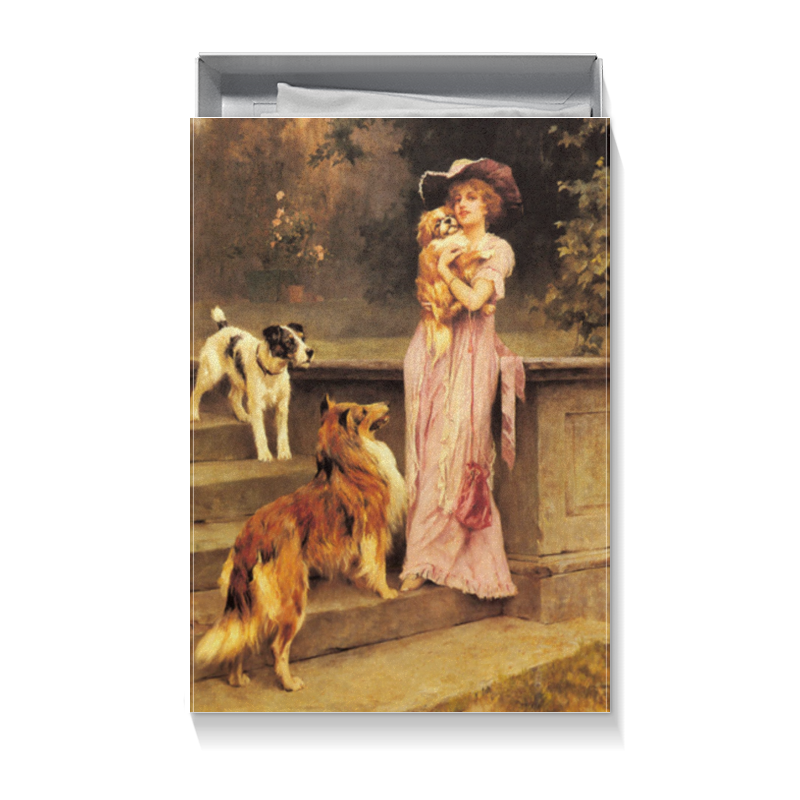 Подарочная коробка большая (пенал) Printio Картина артура вардля картины в квартиру картина etude 2 102х130 см