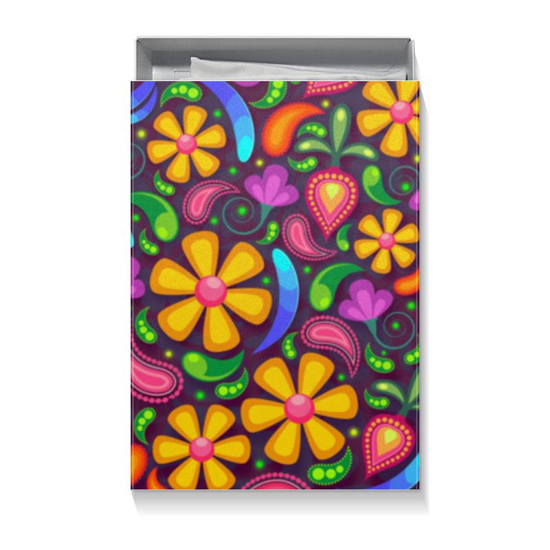 Коробка для футболок Printio Цветочное настроение