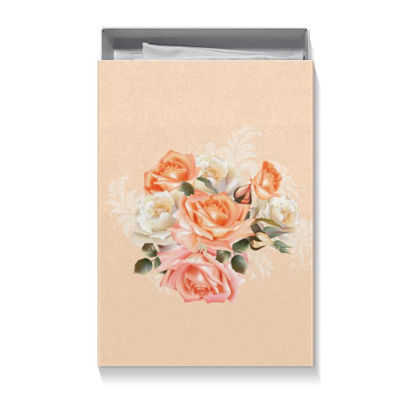 Коробка для футболок Printio Чайная роза цена