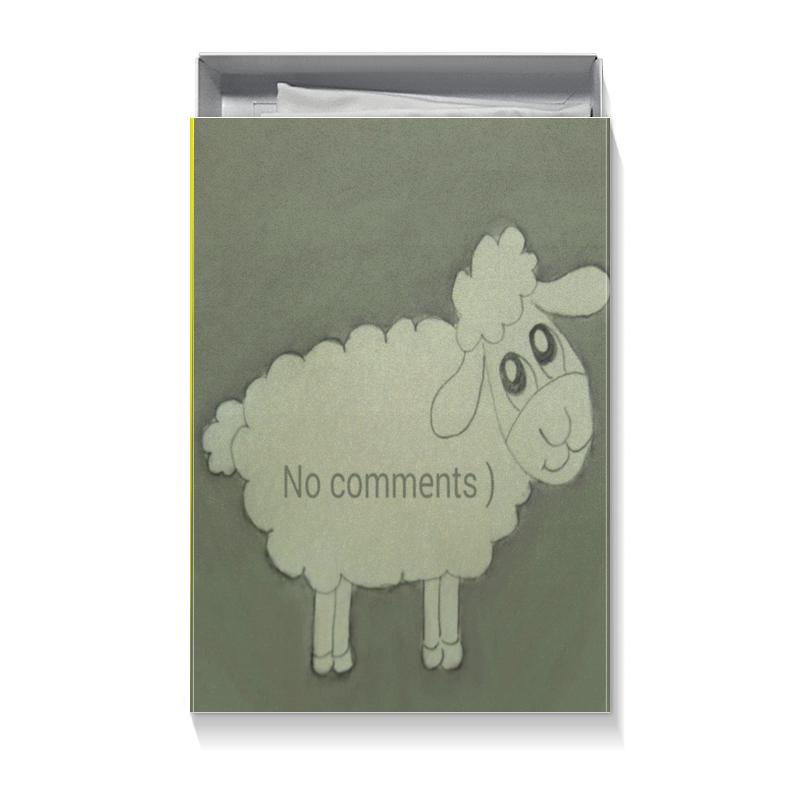 Коробка для футболок Printio Подарочная овечка подарочная коробка куб printio для кружки подружке