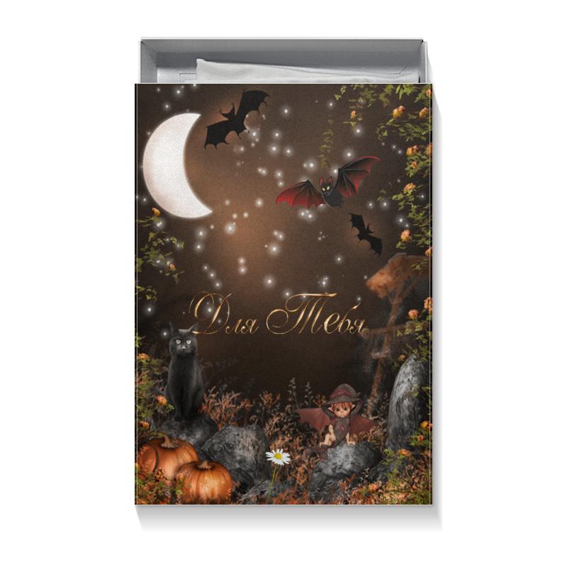 Коробка для футболок Printio Фэнтези.ночные сказки дайсэцу тайтаро судзуки япония снег луна цветы