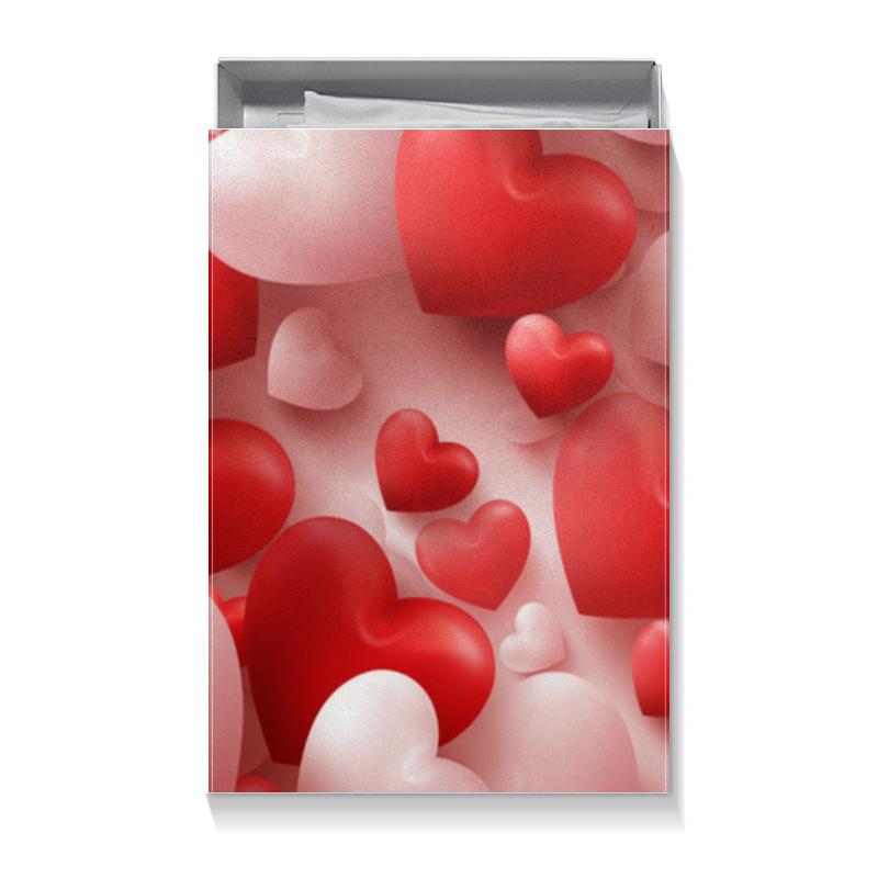 Коробка для футболок Printio Сердце коробка для футболок printio ромашка