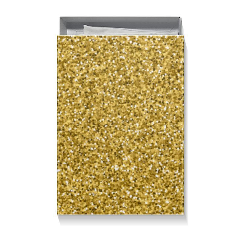 Коробка для футболок Printio Золотой блеск набор золотой запас именной
