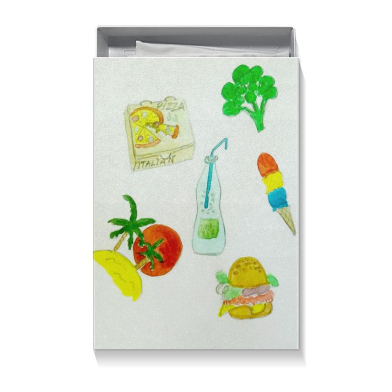 Фото - Коробка для футболок Printio Лето-лето стикеры для стен chinastyler 60 92 diy month1