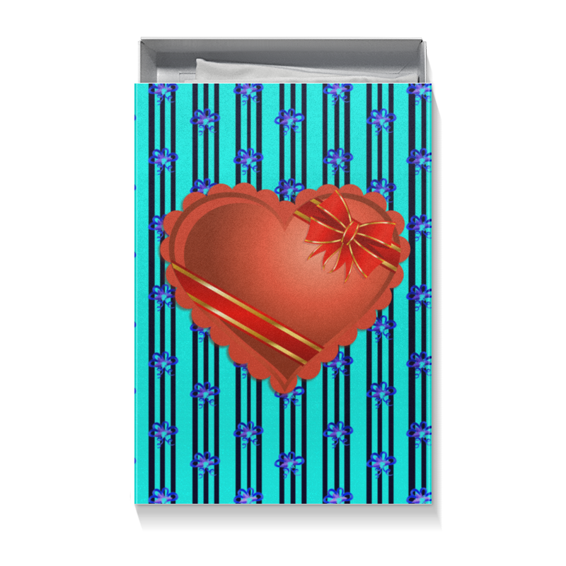 Коробка для футболок Printio Сердце коробка для футболок printio динозавр