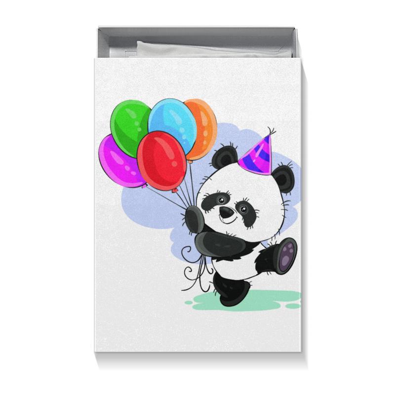 Коробка для футболок Printio Панда поздравляет! свитшот print bar панда гангста
