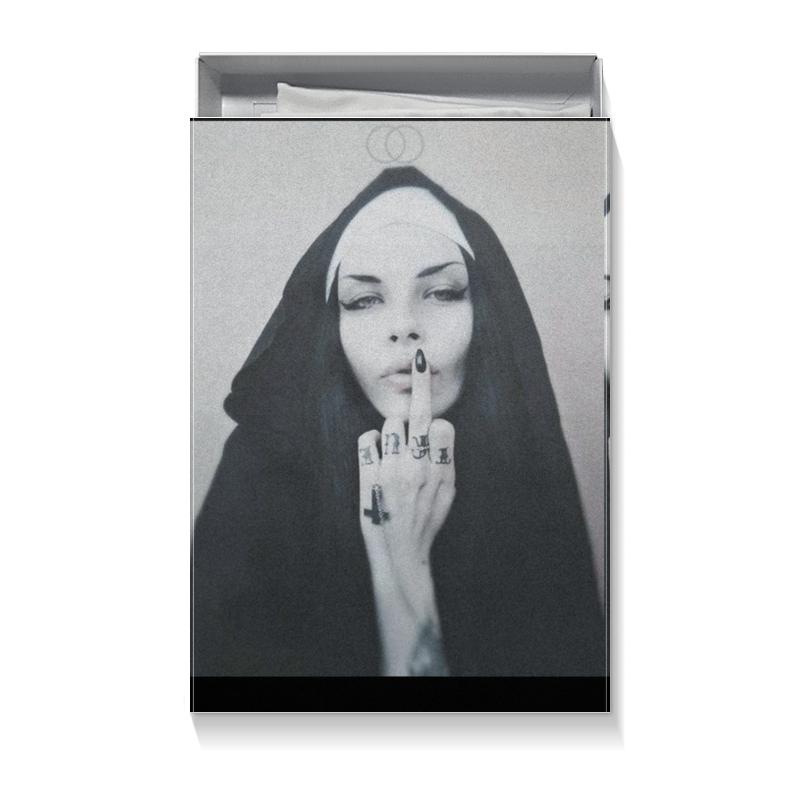 Коробка для футболок Printio Nun - 1