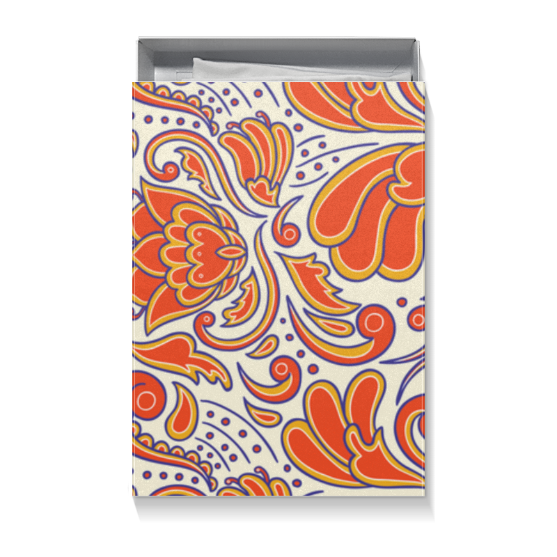 Коробка для футболок Printio Цветочный узор коробка для футболок printio цветочный узор