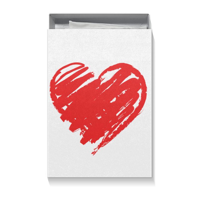 Коробка для футболок Printio Парная на 14 февраля чехол для ноутбука 14 printio asiimov