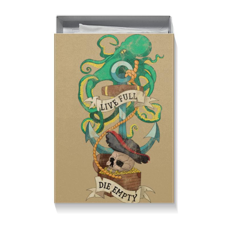 Коробка для футболок Printio Осьминог пюре бабушкино лукошко фрикадельки из индейки в бульоне с 8 мес 100 гр
