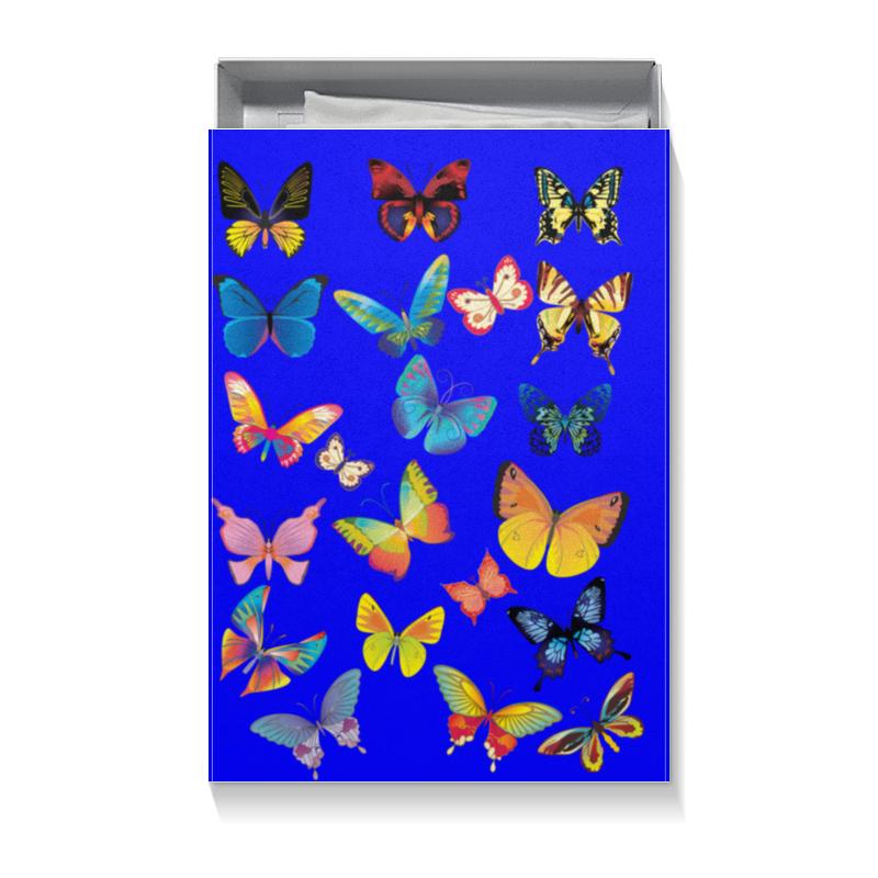 Коробка для футболок Printio Бабочки