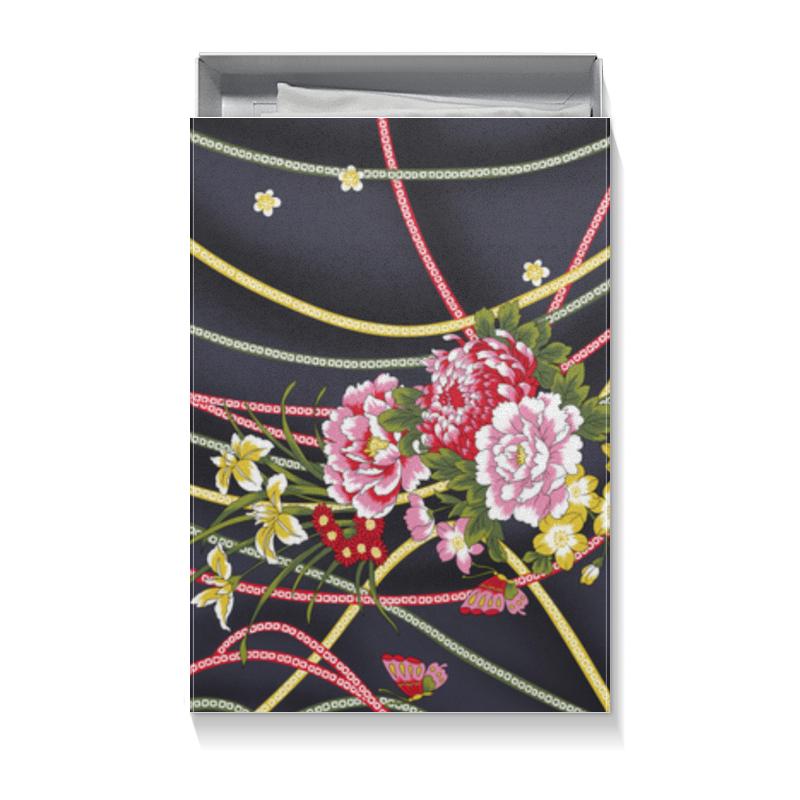 Подарочная коробка большая (пенал) Printio Цветы эмпрана подарок впечатление достойные потехи