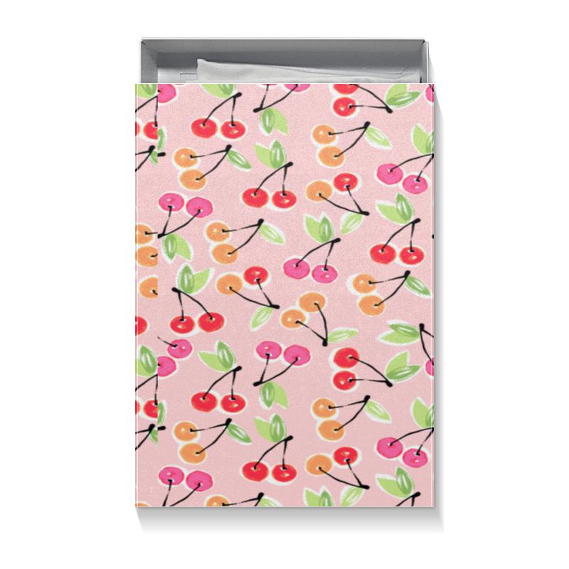 Коробка для футболок Printio Вишенки лонгслив printio яблочки вишенки