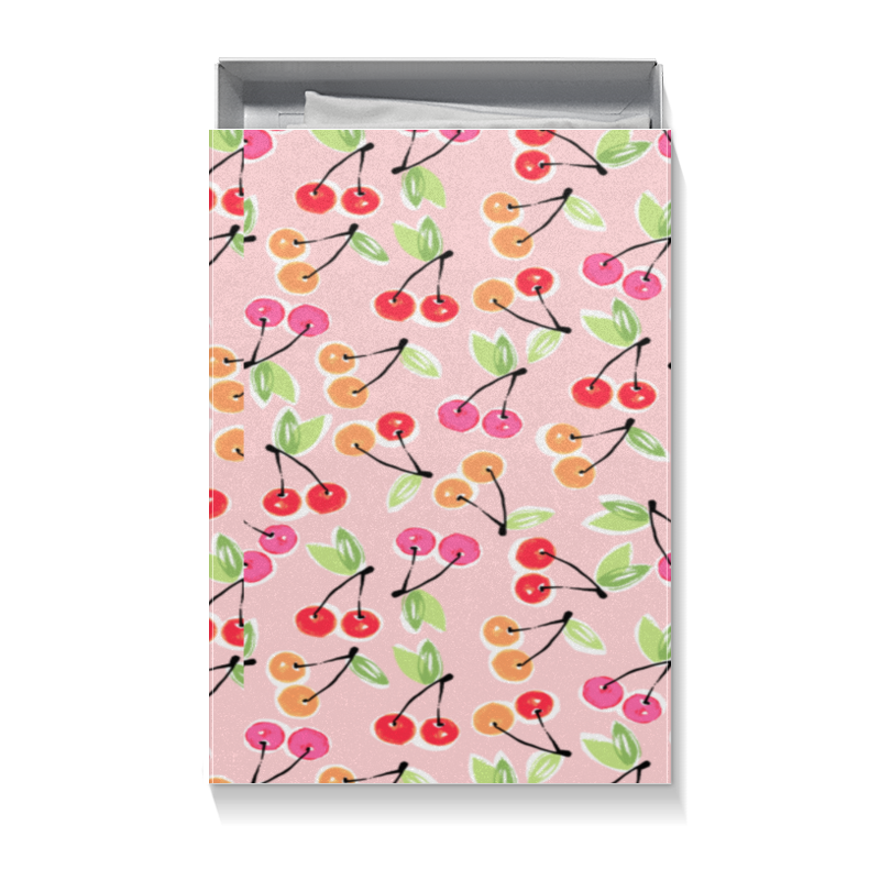 Коробка для футболок Printio Вишенки гирлянда вишенки д улицы 18м 240led цветоизмен