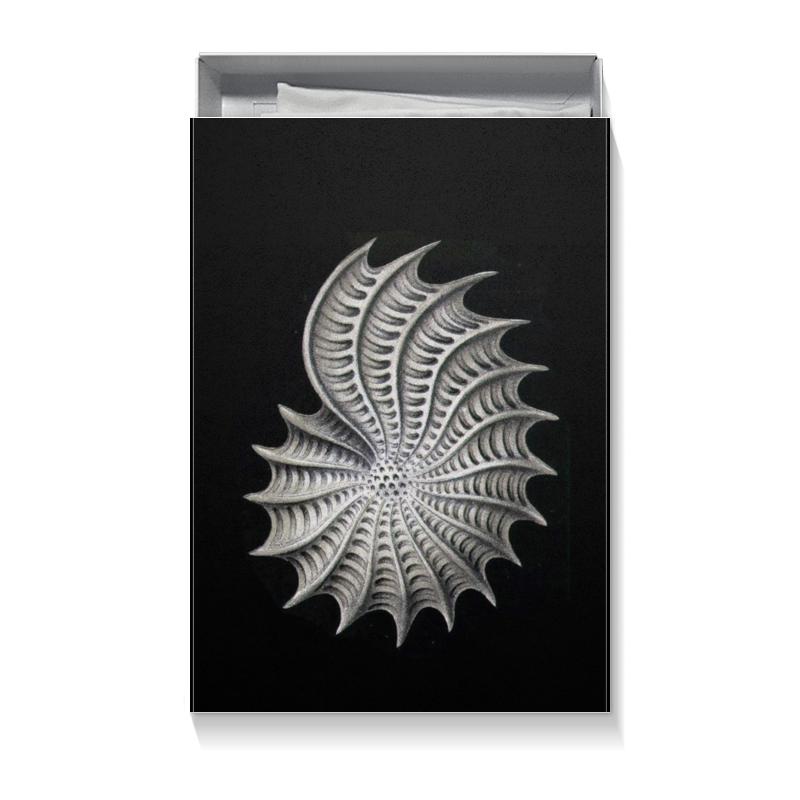 Подарочная коробка большая (пенал) Printio Nautilus, ernst haeckel клиромайзер aspire nautilus киев