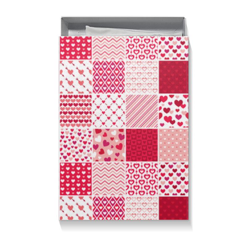 Коробка для футболок Printio С днем святого валентина печенье с предсказаниями с днем святого валентина 12 шт