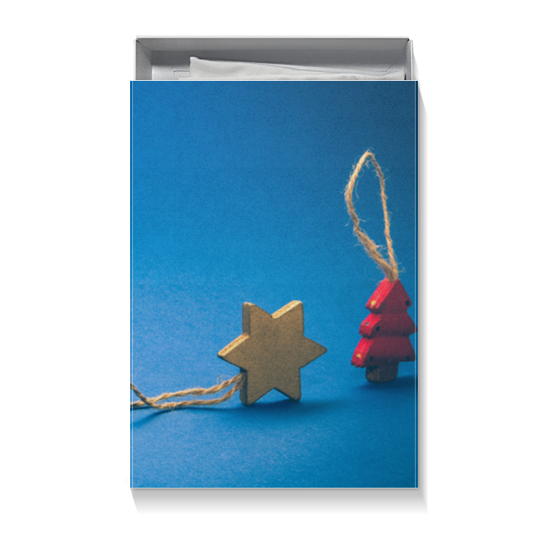 Коробка для футболок Printio Новогодняя худи print bar ёлочки