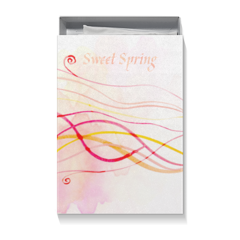 Коробка для футболок Printio Sweet spring (aquarelle)
