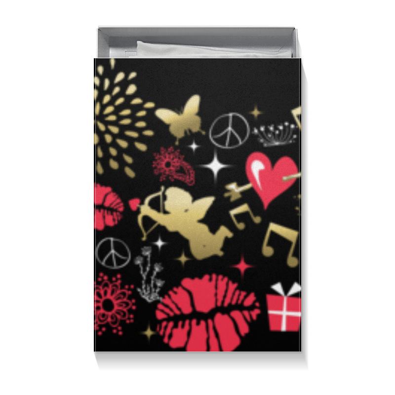 Коробка для футболок Printio Валентинка цена 2017