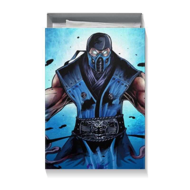 Коробка для футболок Printio Mortal kombat x (sub-zero) цена
