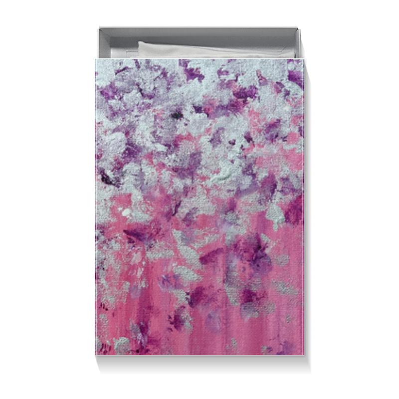 Коробка для футболок Printio Розовое настроение торт printio сакура розовое дерево