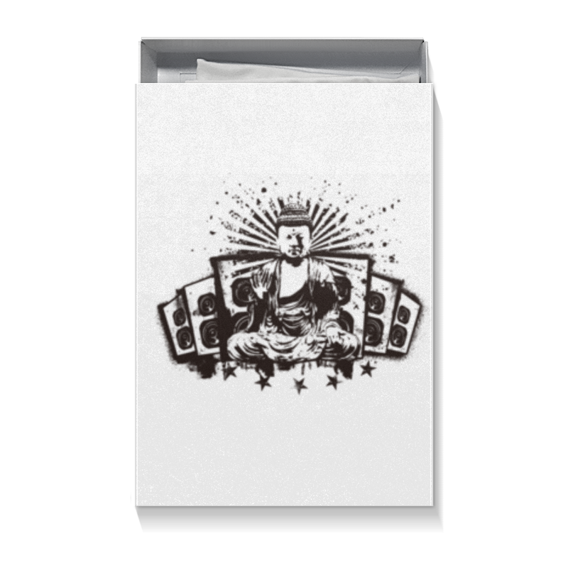 Коробка для футболок Printio Будда (акустика) коробка для футболок printio будда письмена
