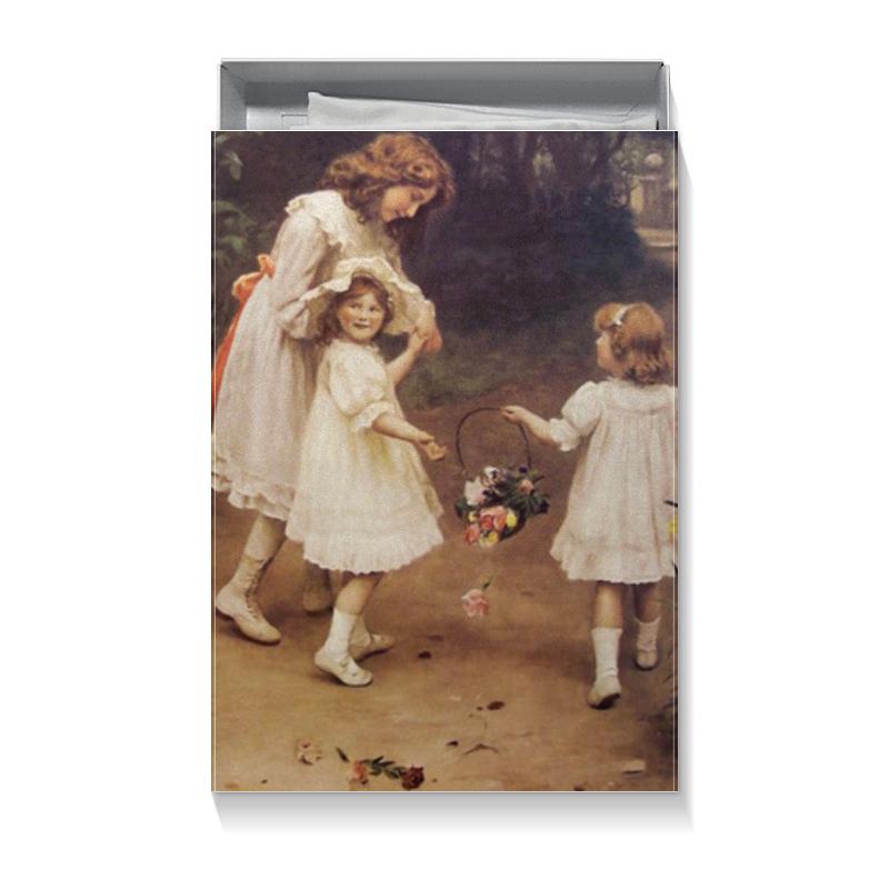 Коробка для футболок Printio Картина артура элсли (1860-1952) подарочная коробка малая пенал printio картина артура элсли 1860 1952