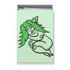 """Коробка для футболок """"Дремлющая троллита"""" - девушка, тролль, графика, сладкий сон, мифические существа"""