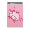 """Коробка для футболок """"Розовый поросенок"""" - арт, счастье, малыш, свин, розовый поросенок"""