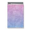 """Коробка для футболок """"Узор с градиентом"""" - узор, голубой, розовый, дудл, градиент"""