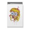 """Коробка для футболок """"Без ума от цветов"""" - любовь, девушка, цветы, сердца, блондинка"""