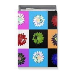 """Коробка для футболок """"цветы"""" - новый год, 8 марта, день рождение, 14 феврала"""