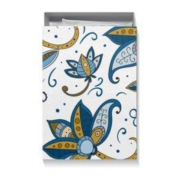 """Коробка для футболок """"Цветочная"""" - цветы, цветочный, узор, рисунок, абстрактный"""