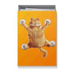 """Коробка для футболок """"котэ."""" - кот, новый год"""