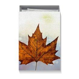 """Коробка для футболок """"Осень"""" - осень, подарок, золотая осень, краски осени, тёплая осень"""