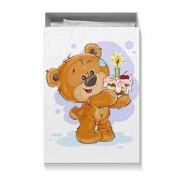 """Подарочная коробка большая (пенал) """" Мишка Тэдди"""" - мишка тэдди, медвежонок, игрушка, праздничный, подарочный"""