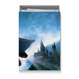 "Коробка для футболок ""Гарри Поттер"" - сказка, гарри поттер, волшебство, магия, хогвардс"