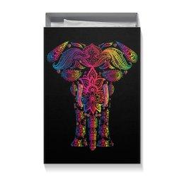 """Коробка для футболок """"слон."""" - новый год, 8 марта, день рождение, 14 феврала"""