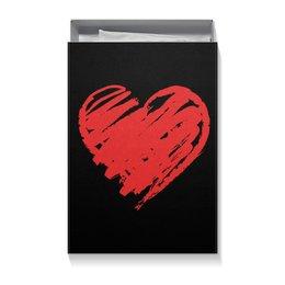 "Коробка для футболок ""На 14 февраля"" - сердце, любовь, 14 февраля, ко дню влюбленных, valentine's day"