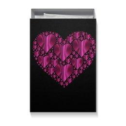 """Подарочная коробка большая (пенал) """"сердце"""" - сердце"""