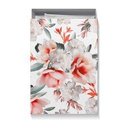 """Подарочная коробка большая (пенал) """"Цветы"""" - цветы"""