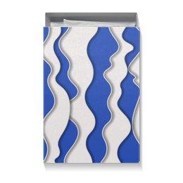 """Коробка для футболок """"Абстрактные волны"""" - волны, абстрактный, узор, рисунок, стиль"""