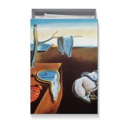 """Коробка для футболок """"Сальвадор Дали. Постоянство памяти"""" - постоянство памяти, сальвадор дали, арт, картина, живопись"""