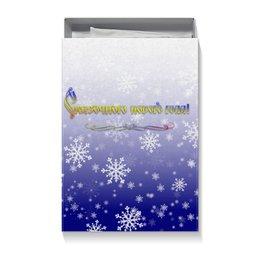 """Коробка для футболок """"Сказочного нового года!"""" - ночь, подарок, сказка, снежинки, магия"""