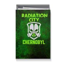 """Коробка для футболок """"Чернобыль"""" - кино, сериал, катастрофа, чернобыль, зона отчуждения"""