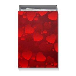 """Коробка для футболок """"сердце"""" - новый год, 14 февраля, 8 марта, день рождение"""
