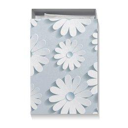 """Коробка для футболок """"цветочки"""" - новый год, цветы, 8 марта, день рождение, 14 феврала"""