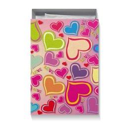 """Коробка для футболок """"Любовь"""" - любовь, сердца"""